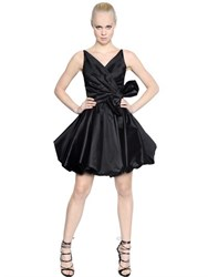 Dsquared Silk Taffeta Dress With Bow