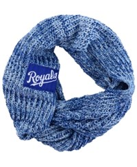 Forever Collectibles Kansas City Royals Peak Infinity Scarf Blue Gray White