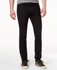 Tommy Hilfiger Men's Slim Fit Black Wash Jeans