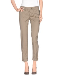 Gold Case Casual Pants Beige