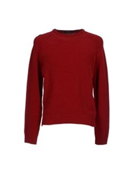 Zegna Sport Sweaters Red