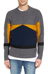 Native Youth Men's Barometer Colorblock Crewneck Sweater