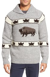 Schott Nyc Men's Cowichan Pullover Sweater