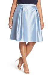 Plus Size Women's Adrianna Papell Shantung Party Skirt