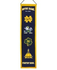 Winning Streak Notre Dame Fighting Irish Heritage Banner Team Color