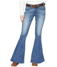 Rock And Roll Cowgirl Mid Rise In Medium Vintage W1b7668 Medium Vintage Jeans Blue