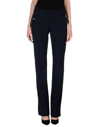Vdp Club Trousers Casual Trousers Women Dark Blue