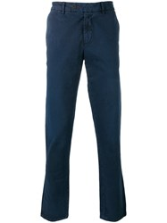 7 For All Mankind Chino Trousers Blue