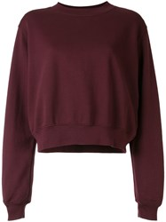 Cotton Citizen Relaxed Fit Sweater Red