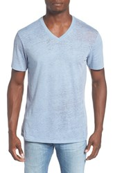 The Rail Men's Burnout V Neck T Shirt