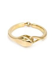 Marc Alary 18Kt Gold Snake Ring Metallic