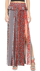 Just Cavalli Gypsy Vibe Maxi Skirt Multicolor