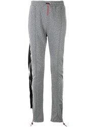 Unravel Project Deconstructed Track Pants Grey