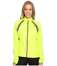 Pearl Izumi W Elite Barrier Cycling Jacket Screaming Yellow Smoked Women's Workout