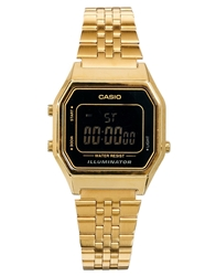 Casio La680wega Mini Digital Black Face Watch