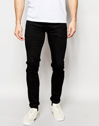 Pepe Jeans Powerflex Finsbury Superstretch Skinny Fit City Slick Black Black