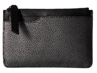 Ecco Iola Small Travel Wallet Black Silver Wallet Handbags