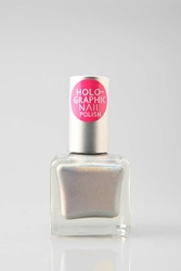 Urban Outfitters Hologram Nail Polish Silver