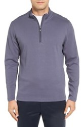 Robert Barakett Cortina Quarter Zip Pullover Blue