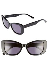 Kendall Kylie Women's 53Mm Cat Eye Sunglasses Black Black Black Black