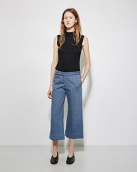 Nomia Cropped Denim Trouser Stonewash