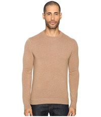 Theory Donners C.Cashmere 2 Rich Camel Men's Sweater Tan