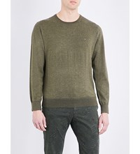 Tommy Hilfiger Crewneck Knitted Jumper Grape Leaf Heather