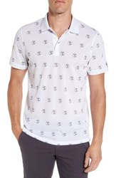 Ag Jeans Men's Hole In One Print Polo