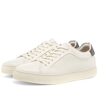 Paul Smith Basso Leather Cupsole Sneaker White