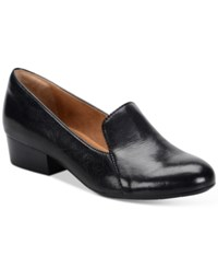 Sofft Begonia Smoking Flats Women's Shoes Black