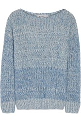 Mih Jeans Mohair Blend Sweater Blue