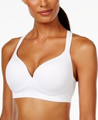 Lily Of France Energy Boost Medium Impact Sport Bra 2151900 White