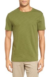 Vince Men's Slub Cotton T Shirt Olive