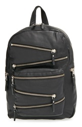 Ash 'Small Angel' Leather Backpack Black