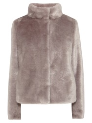Coast Oslo Faux Fur Coat Grey