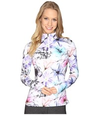 Obermeyer Sage Sport 75Wt Zip Top X Ray Floral Women's Clothing Multi