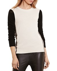 Ralph Lauren Tri Tone Cashmere Sweater 100 Bloomingdale's Exclusive Antique Ivory