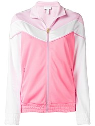 Escada Sport Relaxed Fit Track Jacket Pink