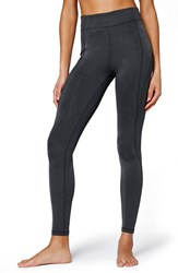 Women's Ivy Park 'Y' High Rise Leggings Dark Grey Marl
