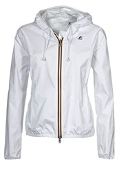 K Way Kway Waterproof Jacket White