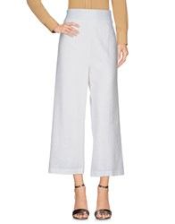 Brigitte Bardot Casual Pants White