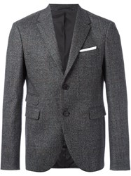 Neil Barrett Two Button Blazer Grey