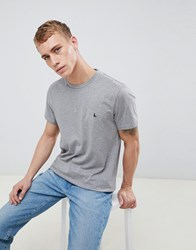 Jack Wills Sandleford T Shirt In Grey Marl