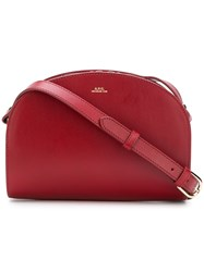 A.P.C. Demilune Bag Red