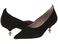 Vivienne Westwood Pinched Point Court Shoe Black Women's 1 2 Inch Heel Shoes