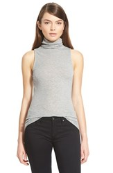 Chelsea 28 Women's Chelsea28 Turtleneck Layering Tank Grey Heather