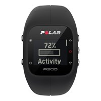 Polar A300 Sports Watch With Heart Rate Monitor Black