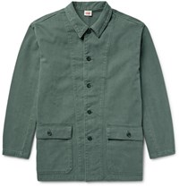 Levi's Vintage Clothing 1960'S Brushed Cotton Twill Surplus Jacket Gray Green