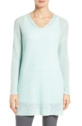 Eileen Fisher Women's Slubbed Organic Linen And Cotton Tunic