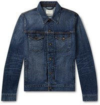 Rag And Bone Definitive Stretch Denim Jacket Blue
